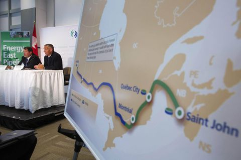 Energy East pipeline cancelled