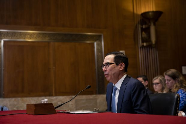 Mnuchin says courts need to settle fight over Trump's taxes