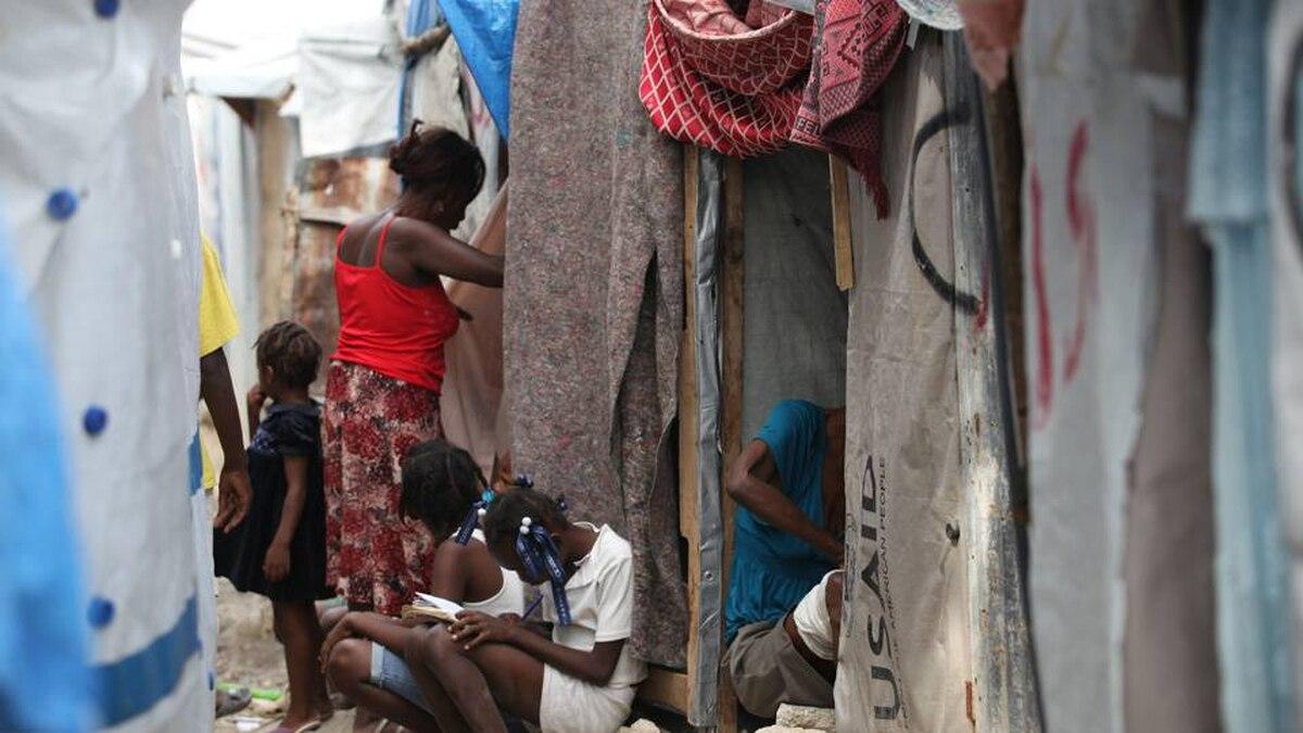 In Haiti, following the earthquake