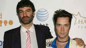 Jorn Weisbrodt (left), seen here with his fiance, Canadian singer and songwriter Rufus Wainwright, has been named the new artistic director of the Luminato Festival in Toronto.