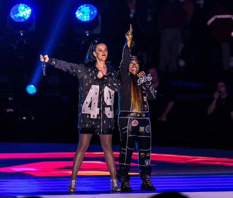 Now trending: Missy Elliot performs with Katy Perry at Super Bowl halftime - and steals the show?