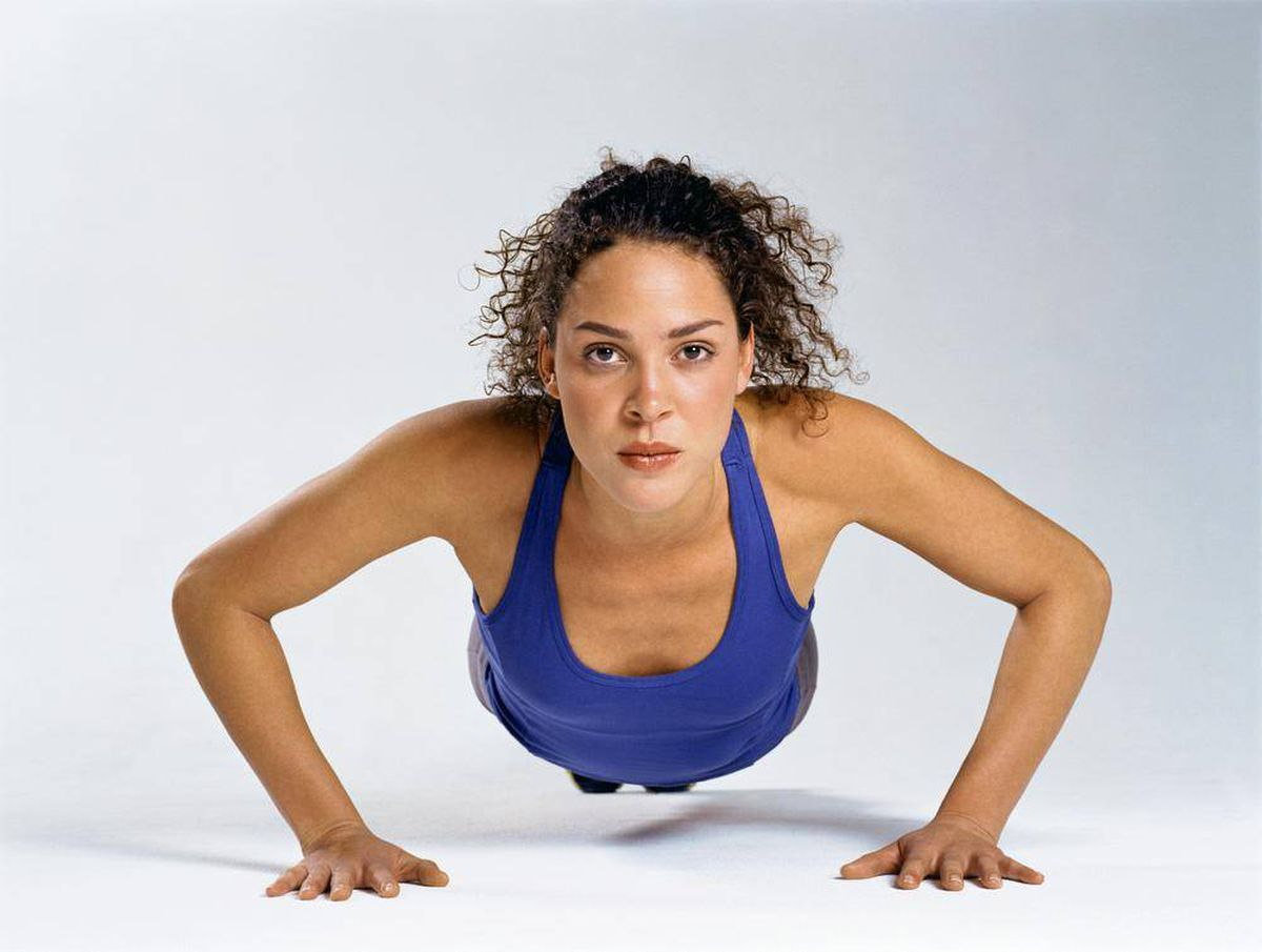 Do squats and push-ups count as strength exercises? - The