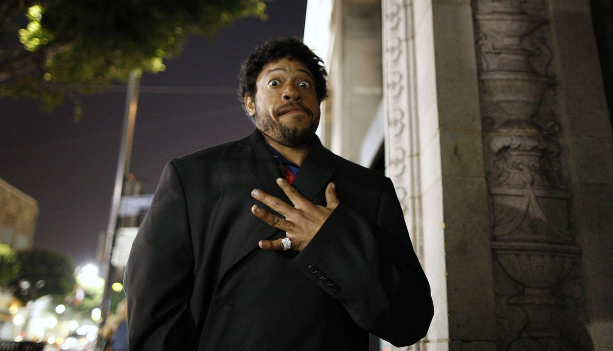 A homeless man who goes by the name of Super Tweeker shows a ring he says is encrusted with diamonds on Hollywood Boulevard in Hollywood, California late February 20, 2012.