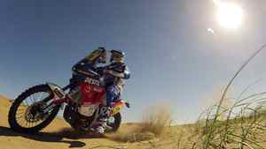 The Netherland's Frans Verhoeven rides his Sherco during the first stage from Mar Del Plata to Santa Rosa de la Pampa in the fourth South American edition of the Dakar Rally in Santa Rosa de la Pampa, January 1, 2012.