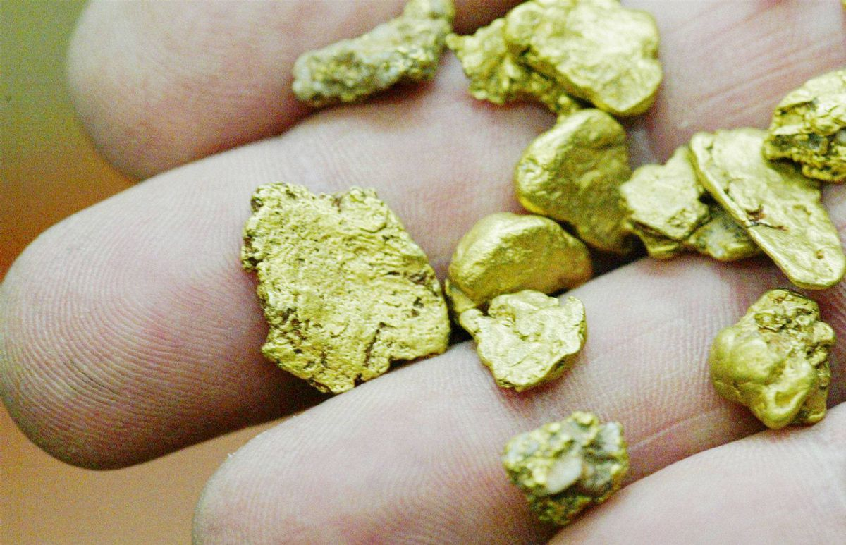 European Goldfields says it has received third-party approaches.