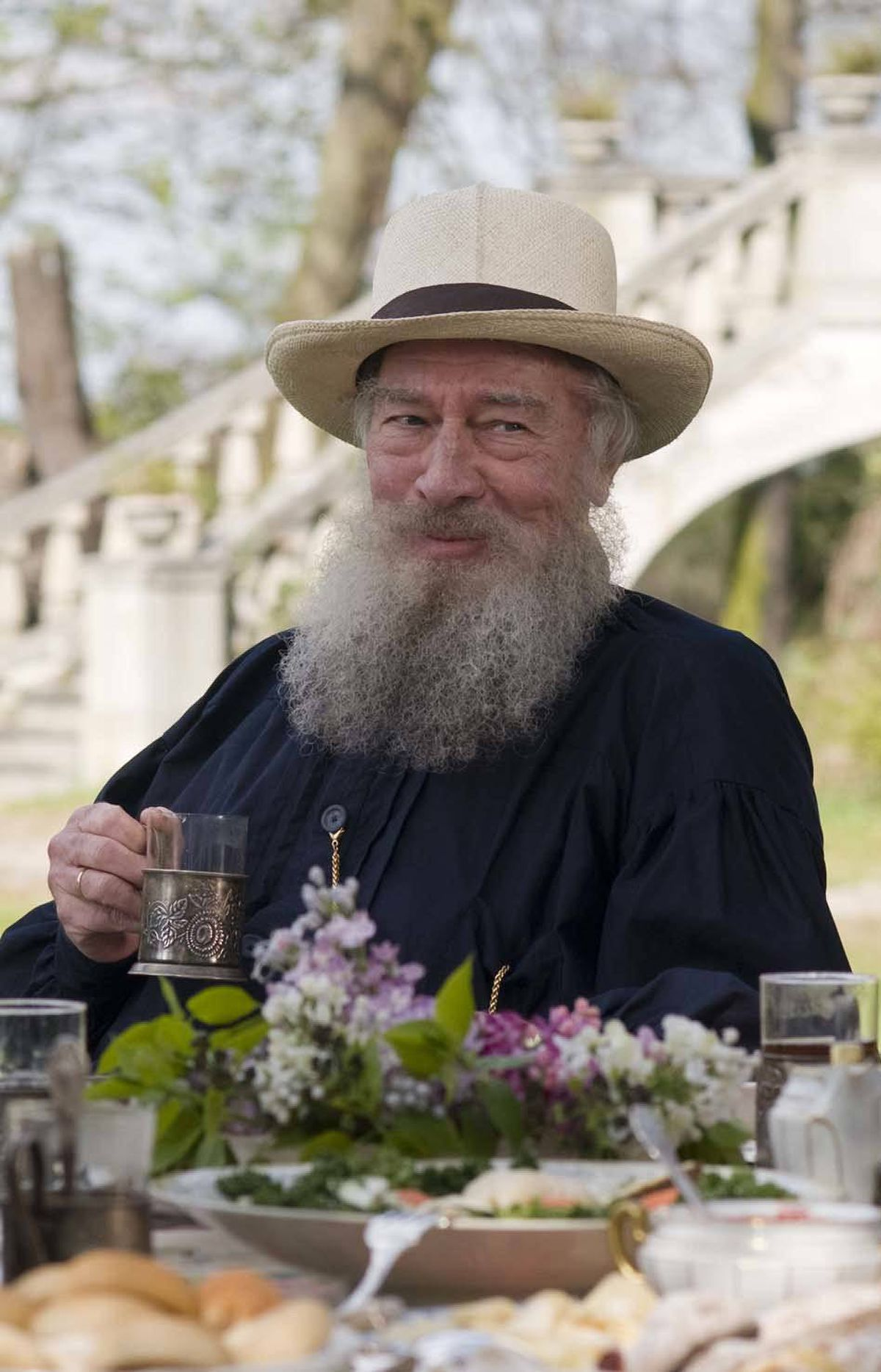 Christopher Plummer as Tolstoy in The Last Station (2009).