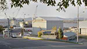 The Davie shipyard, shown on Oct. 19, 2011 in Levis, Que., was shut out of $33-billion in federal contracts.
