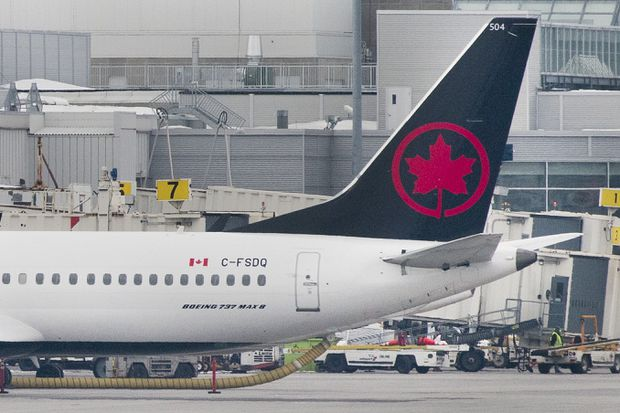 Canada's two biggest airlines taking different tacks with grounded 737 Max aircraft