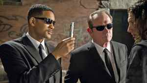 Will Smith and Tommy Lee Jones in Men in Black 3.