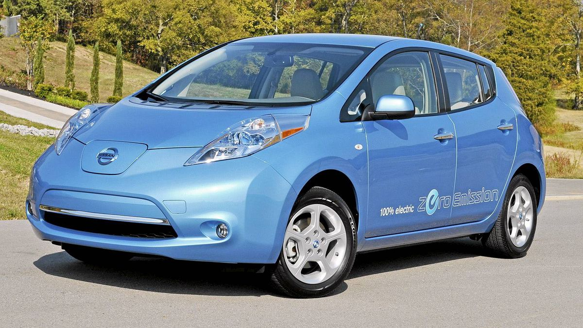 2011 Nissan Leaf Credit: Michael Bettencourt for The Globe and Mail