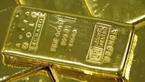 One kilogram gold bars
