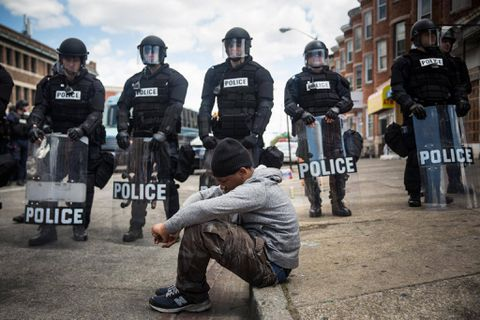 Tensions explode in Baltimore, a city battered by poverty, drugs and neglect