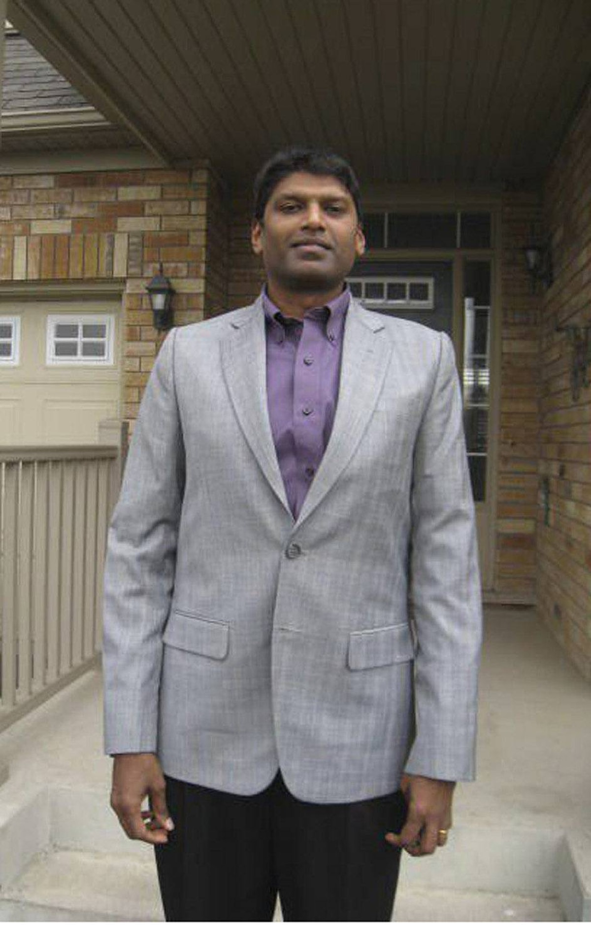 """FREDRIC SURESH Lives in Milton, Ont. Emigrated from India in 1996 HIS STORY: """"I am an engineer by training but I had great difficulty in landing a job. I decided to change fields and went to York University to become a teacher. I now teach high school math and I absolutely enjoy my job."""""""