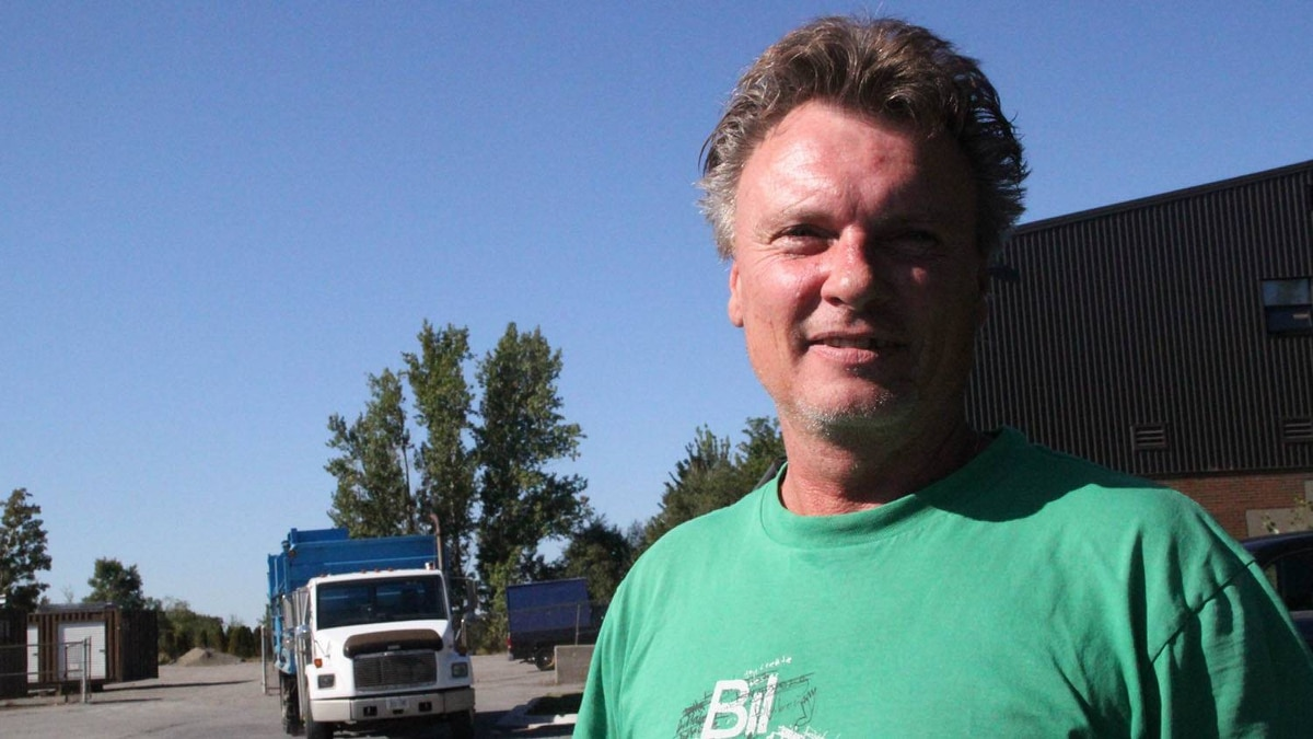 """5360 Name: Marc Groulx Age: 52 Riding: Sudbury The good news: Mr. Groulx is planning to vote NDP. The bad news: He doesn't know the name of the leader (""""Andrea...I think it's Andrea, right?"""") or her policies; he's motivated by a fealing of fealty towards Jack Layton. """"He's more for the working man."""" But he'd like to know more: Mr. Groulx, who works in Laurentian University's recycling department, knows a lot of friends who've been laid off in the past few months from what should've been steady jobs. He'd be eager to hear of any plans to boost the local economy. """"We need more jobs. ... Oh, and early retirement."""""""