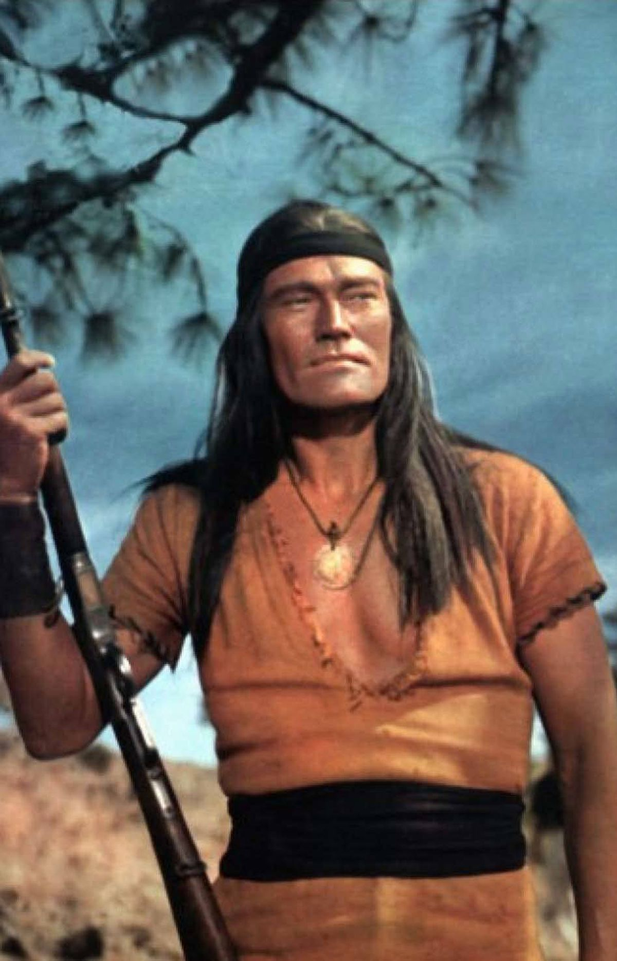 MOVIE Geronimo TCM 11:15 p.m. ET; 8:15 p.m. PT You thought Bryan Cranston was versatile? Back in 1962, the rangy actor Chuck Connors was midway through his five-season run as a straight-shootin' lawman on The Rifleman, while on the big screen he was playing the most famous native American character in history. Fantastically miscast, Connors is bewigged and steely-eyed as the legendary Apache leader, who is forced to surrender in order to prevent the starvation or massacre of his people. Geronimo humbly agrees to live out his life on a reservation, but goes back on the warpath when the U.S. government reneges on treaty promises. And so it begins.