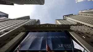 The New York Stock Exchange is seen February 9, 2011.
