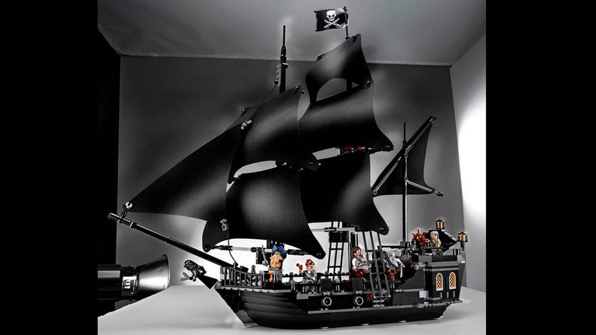 Lego Pirates of the Caribbean Black Pearl This is quite possibly one of the coolest Lego sets ever. Inspired by the popular movie series, it even comes with a little Lego Davy Jones and pirate ghost. This is one toy Dad will be happy to help assemble. $129, lego.com
