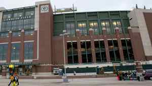 Outside view of Lambeau Field prior to the game between the Chicago Bears and Green Bay Packers. Jeff Hanisch-US PRESSWIRE