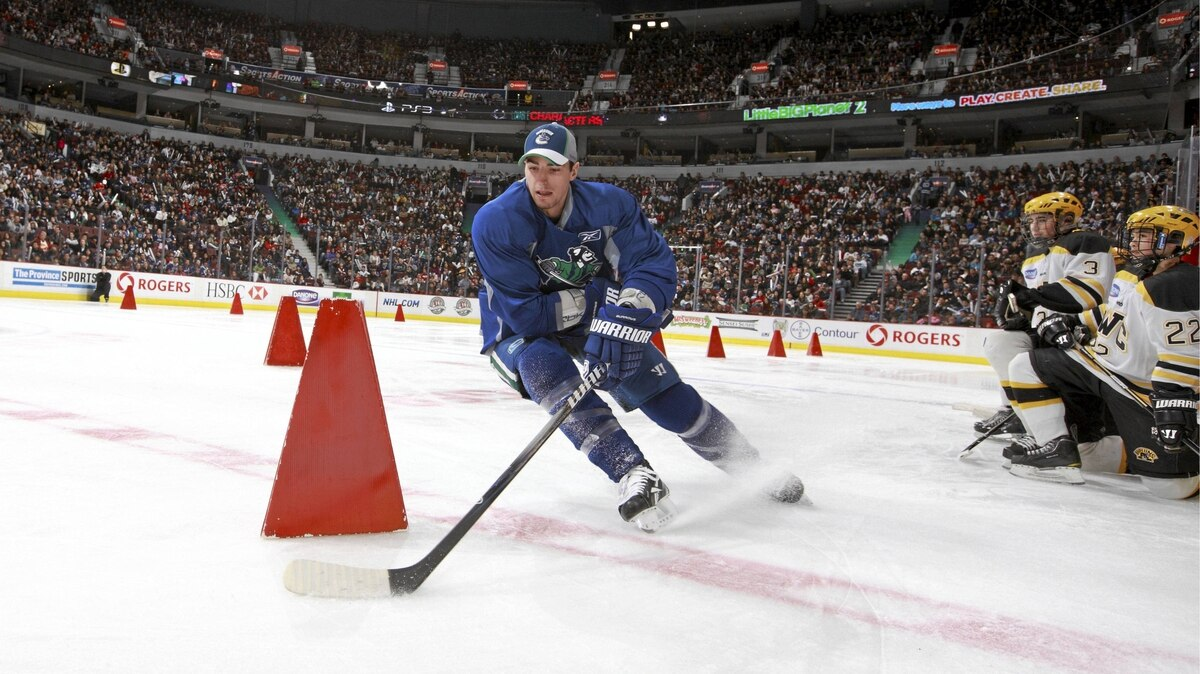 The Vancouver Canucks' 2011 Superskills event at Rogers Arena in Vancouver.