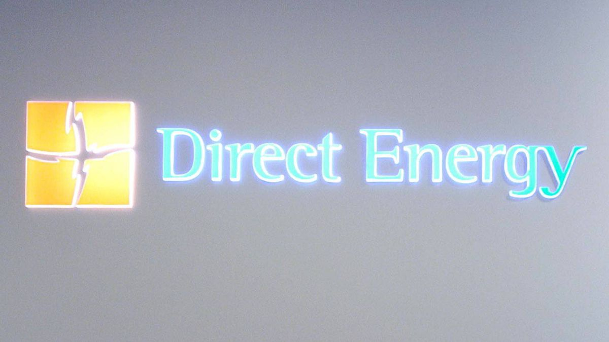 Direct Energy logo.