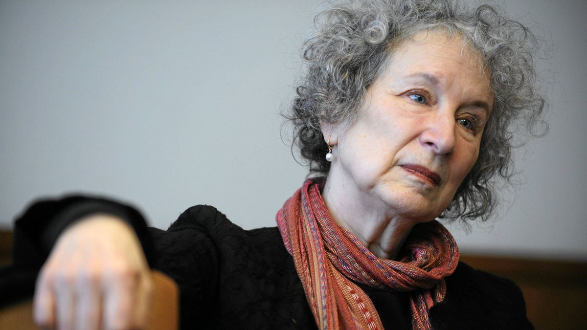 Author Margaret Atwood meets with members of the Globe and Mail's editorial board to talk about culture and upcoming federal election.