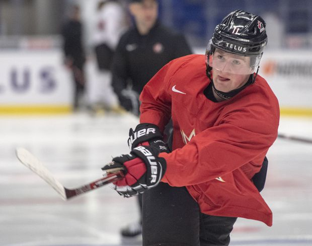 Canada's Alexis Lafrenière to return to lineup against Slovakia after suffering knee injury at world juniors