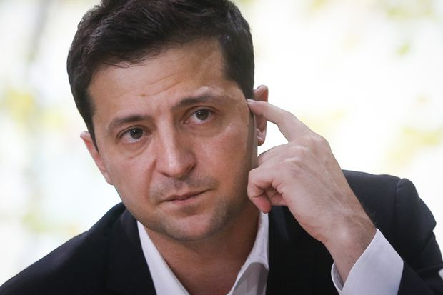 Ukraine's Zelensky: 'No Blackmail' in Telephone Call with Trump