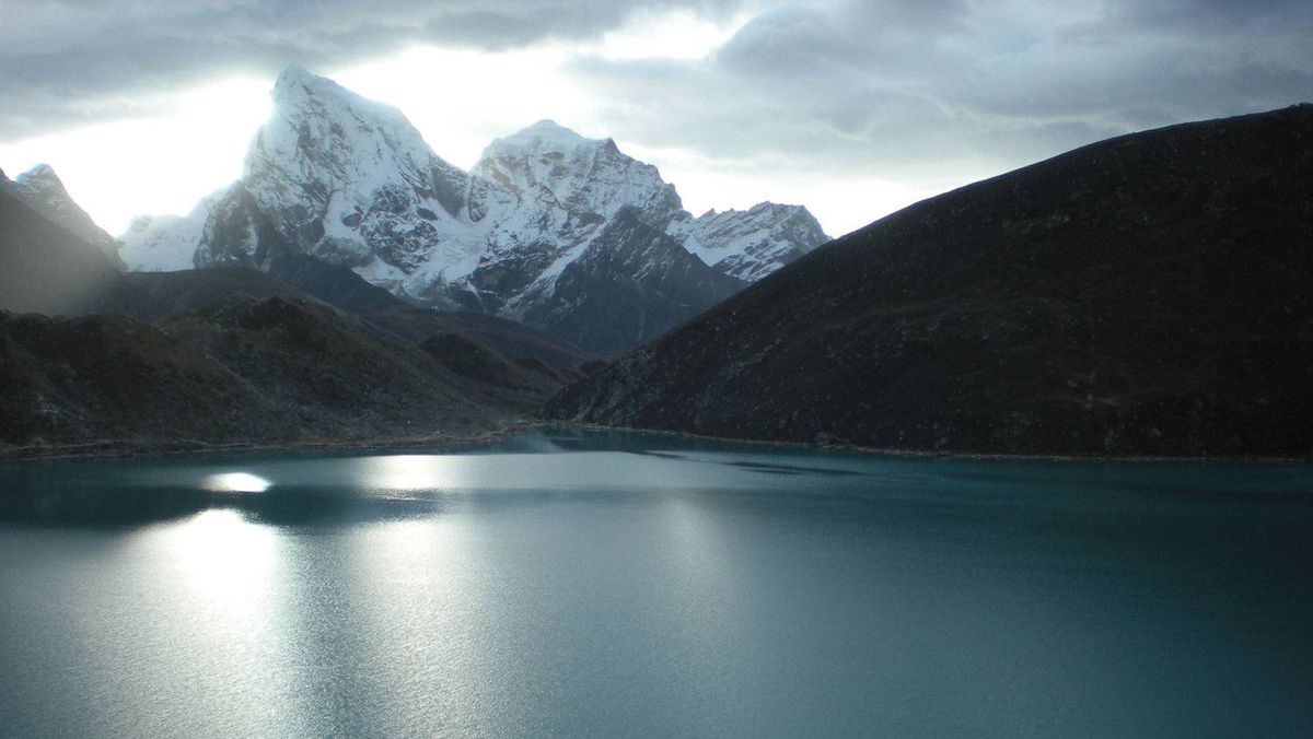 Erin Cipollone, Canmore, Alta.: Gokyo, Nepal: The Gokyo Lakes are the highest system of freshwater lakes in the world.