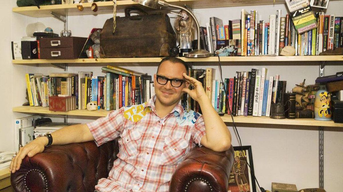 Canadian science-fiction writer Cory Doctorow is a vocal advocate for the rights of computer users.