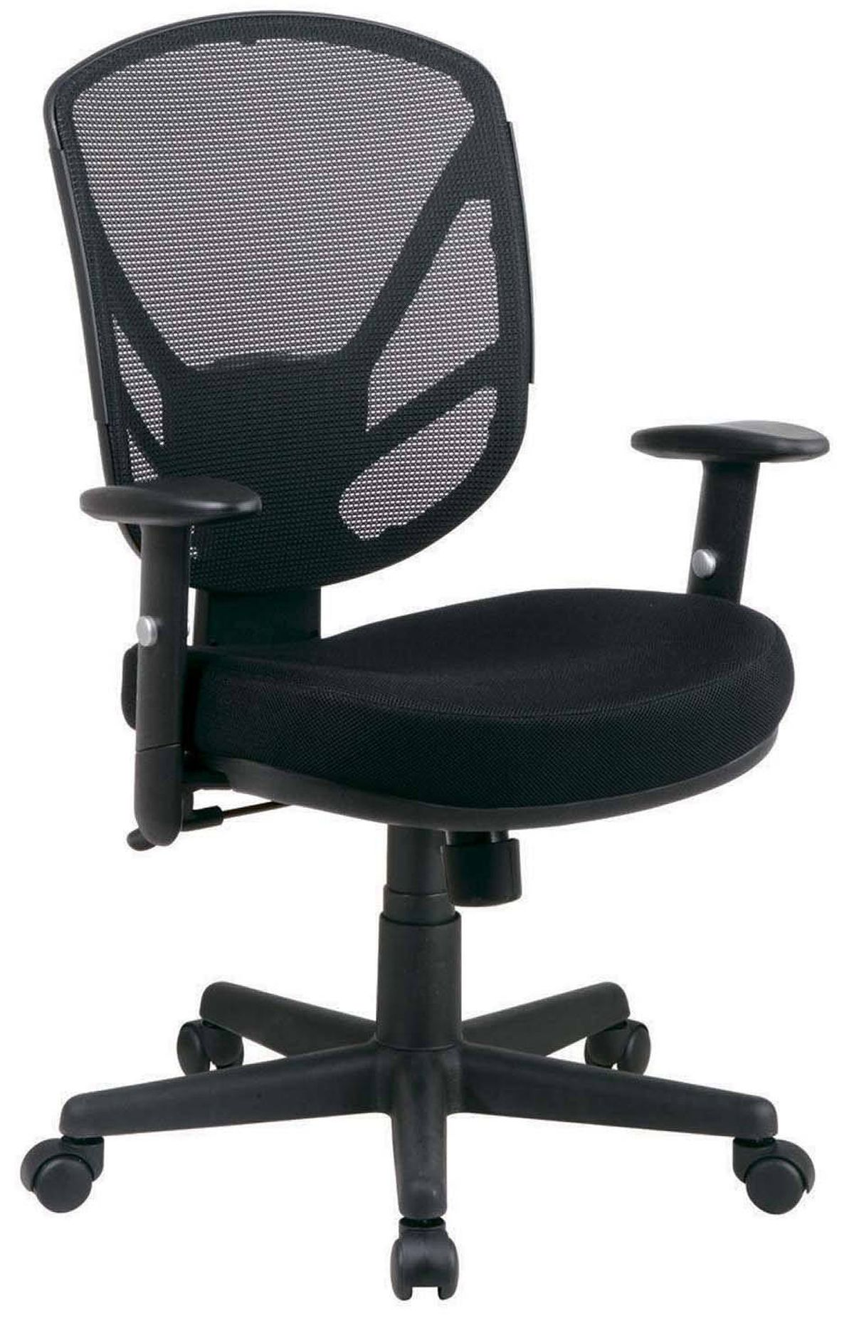 Staples' Mesh Task Chair offers adjustable seat and arm rests, centre tilt movement and tilt-lock and -tension control at an affordable price. $139.99 at Staples stores across Canada.