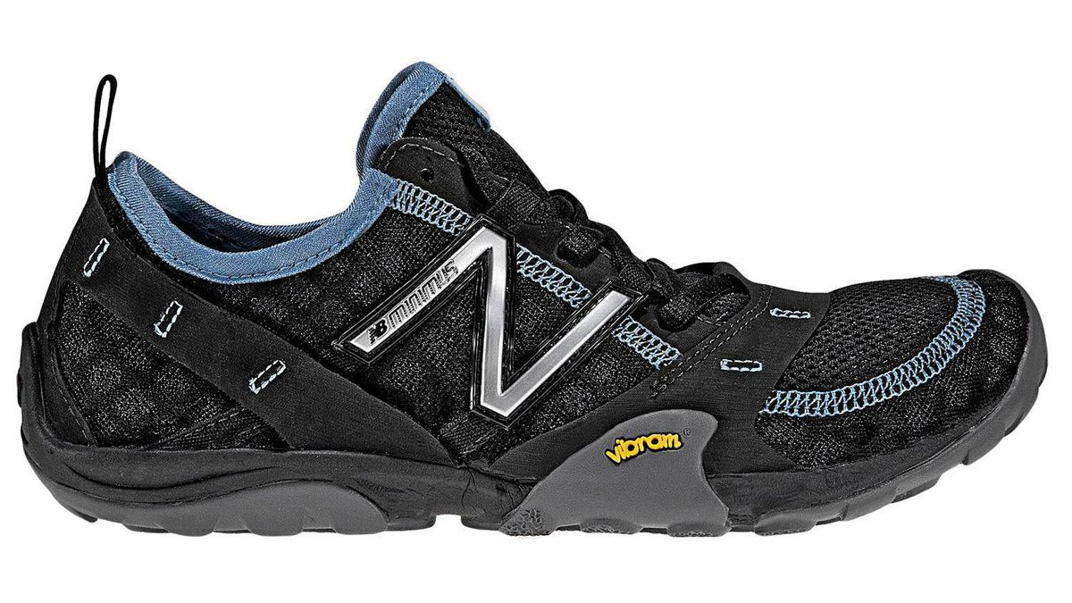 4. TRAIL RUNNING New Balance Minimus Trail, $130 The Minimus Trail is one of this year?s most radical trail-running shoes. Intended to be worn without socks and offering only a four-millimetre heel-to-toe drop, this shoe brings the barefoot-running ideal to the trails. Surprisingly, this minimalist approach works. The shoe feels agile on technical terrain, and the low-profile Vibram outsole is shockingly sticky on smooth, wet surfaces. Ideal Runner: Trail runners wanting a fast and agile minimalist shoe, while still maintaining some impact protection.