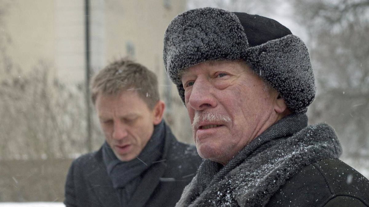 Christopher Plummer, right, and Daniel Craig star in The Girl With The Dragon Tattoo.