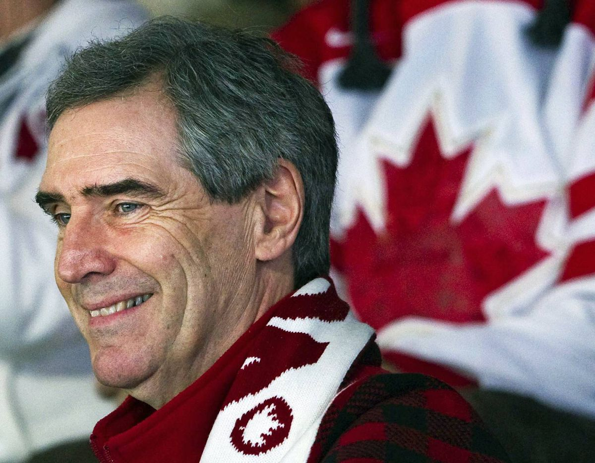 Liberal Leader Michael Ignatieff takes in an Olympic curling match in in Vancouver on Feb. 25, 2010.