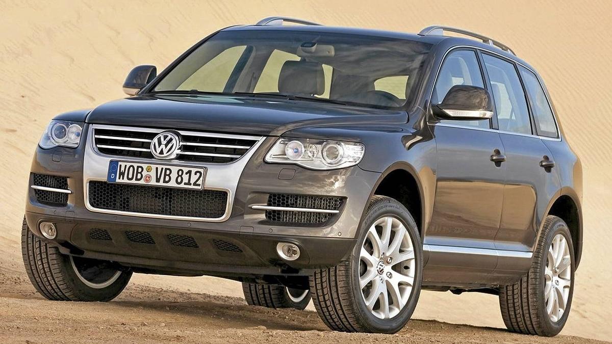 2007 VW Touareg__Credit: Volkswagen