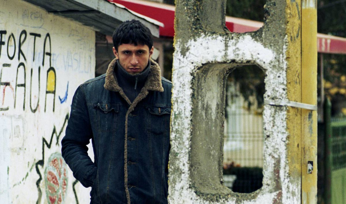 Dragos Bucur plays an undercover Romanian cop who's got to enforce a drug law he knows will soon change.