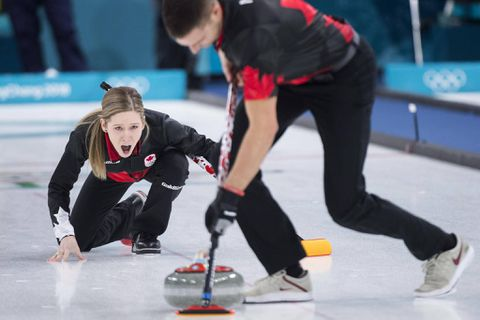 Team USA's #HamFam easily defeats OAR in curling mixed doubles opener
