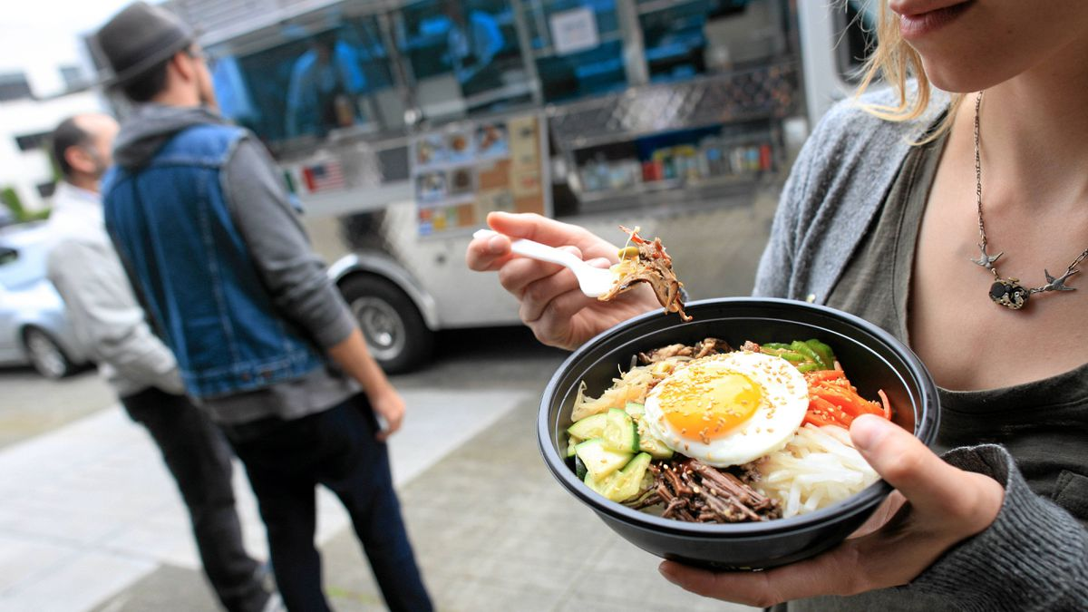 The Coma Food truck serves up interesting fusion of Korean/Mexican/American food on the streets of downtown Vancouver.