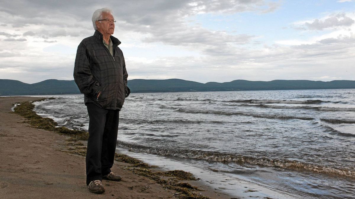 Georges Kavanagh, a unilingual francophone, feels a strong pull to the story of his Irish forebearers. HIs ancestor survived the wreck of The Carricks off Cap-des-Rosiers, Quebec.