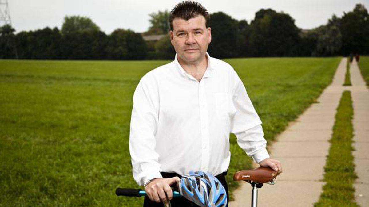 Glen Higgins' bike accident has caused damageto his sense of smell and taste.
