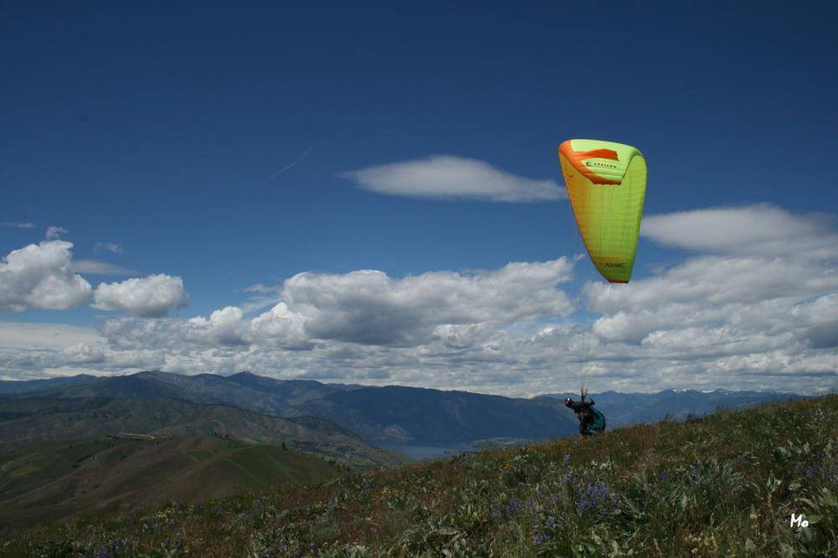 In Pictures: Paragliding 'like playing chess with Mother ...