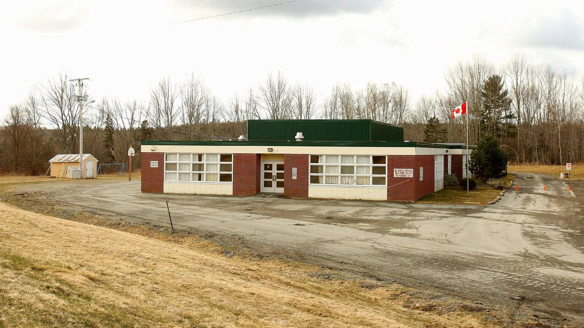 Newport Station District school in Newport Station, N.S., April 5, 2012.