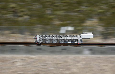 Colorado route selected for Hyperloop project
