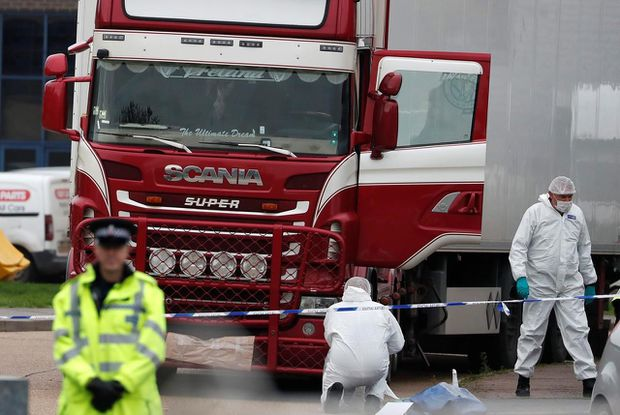 Two Moroccans among suspects linked with United Kingdom migrant truck deaths