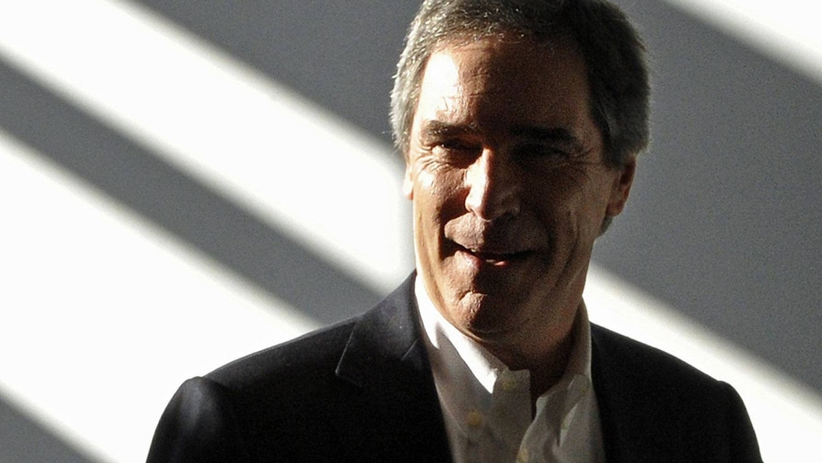 Liberal Leader Michael Ignatieff arrives at a campaign stop at Sheridan College in Oakville on March 29, 2011.