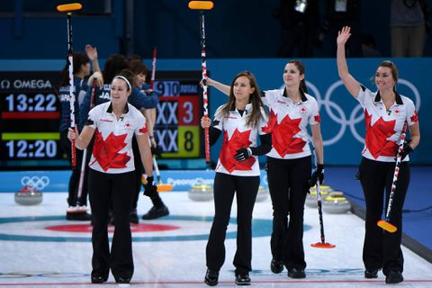 Canada Olympic curling teams moving in opposite directions