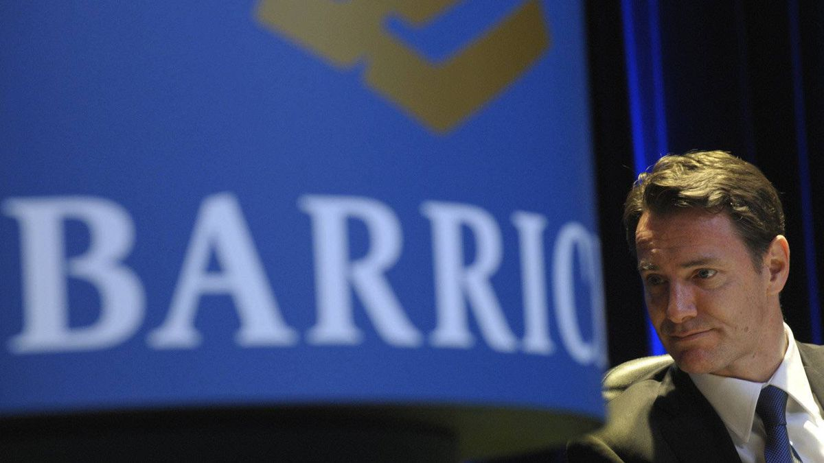 Aaron Regent, president and CEO of Barrick Gold.