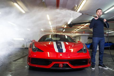 For the ultrawealthy, price is no object when cleaning their luxury cars