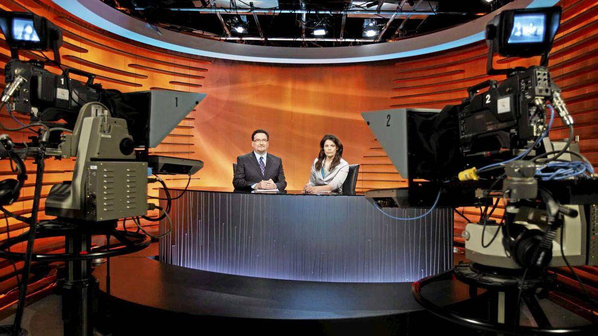 The set of APTN National News