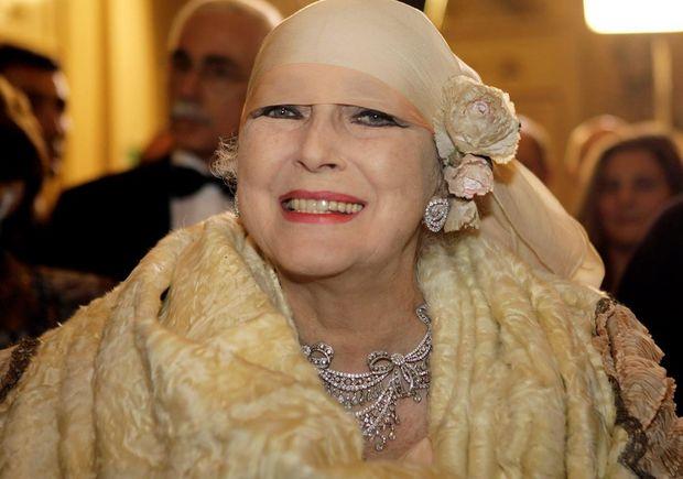 Valentina Cortese was an Italian screen diva