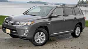 2011 Toyota highlander Hybrid Credit: Michael Bettencourt for The Globe and Mail